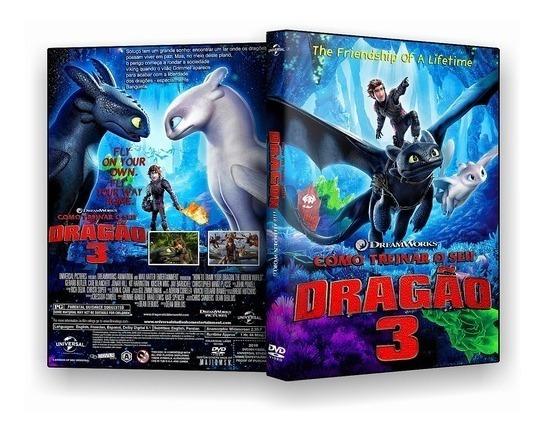 Dvd Filme Como Treinar O Seu Dragão 3