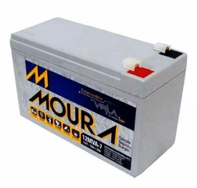 Bateria Moura Vrla - 12v 7ah - Nobreak / Alarme / Cercas