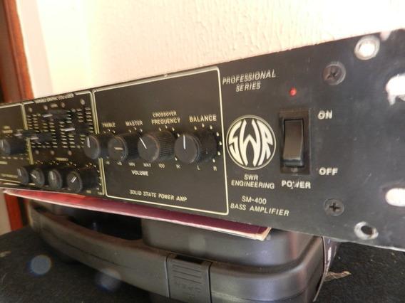Lendário Amplificador Swr Modelo Sm-400 Top Sao 400w Troco