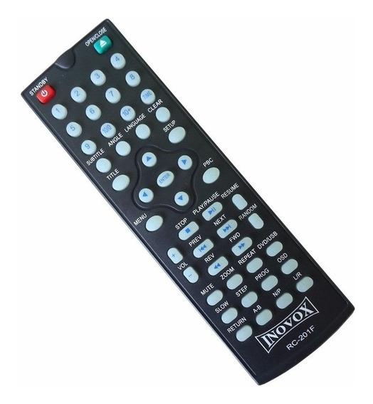 Controle Remoto Inovox Rc-201f Original, In1218 1219 In1220