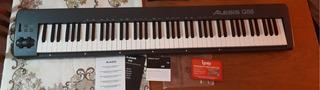 Controlador Midi Usb 88 Teclas Alesis Q88 Q-88 Piano