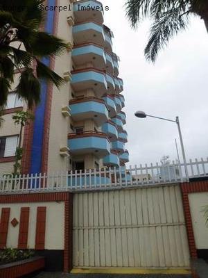 Apartamento Para Locação Definitiva No Centro Da Cidade A Duas Quadras Do Mar E Da Praça Com Garagem Coberta E Elevador - Ap00215 - 2480286