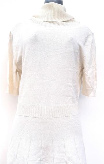 Vestidos Casuales Charming Charlie Crema -talla M
