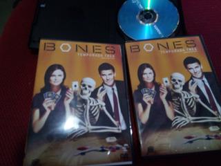 Serie Bones - Dvd - Temp 1 A 5 Completas