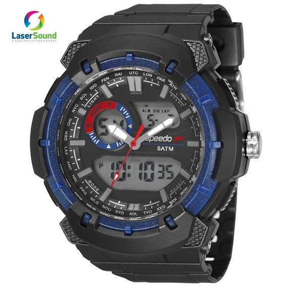 Relógio Speedo Masculino 81184g0evnp2 C/ Garantia E Nf