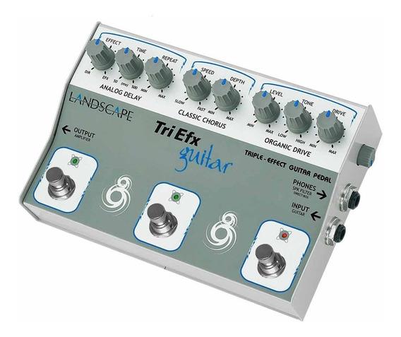 Pedal Guitarra Efeito Triplo Trigt Triefx Guitar - Landscape