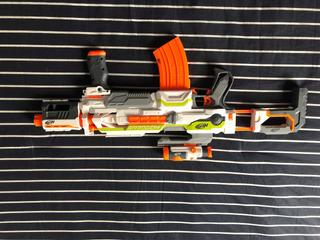 Pistola Nerf N Strike Blaster Modulus Ecs-10