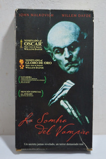 La Sombra Del Vampiro Vhs John Malkovich Willem Dafoe Terror
