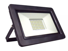 Kit 6 Refletor Led 100w - Holofote Branco Frio Bivolt