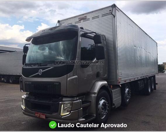 Volvo Vm 330 8x2 Leito - I-shift 16/17 Baú De Aluminio Pra