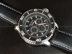 Relógio Masculino Nautica Calendário Duplo A17602g
