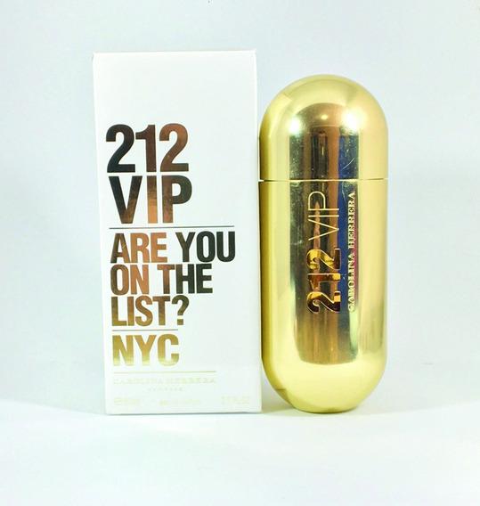 Perfume 212 Vip Feminino - 80ml Importado Original Com Selo
