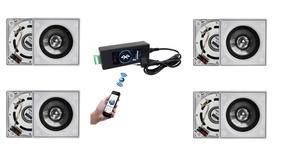 Kit Caixa Embutir Amplificador Bluetooth Bta-1 Aat + Brinde