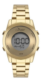 Relógio Condor Feminino Ref: Cobj3279aa/4d Digital Dourado