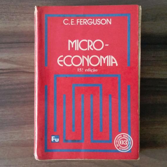 Microeconomia - Ferguson - Leia Descrição