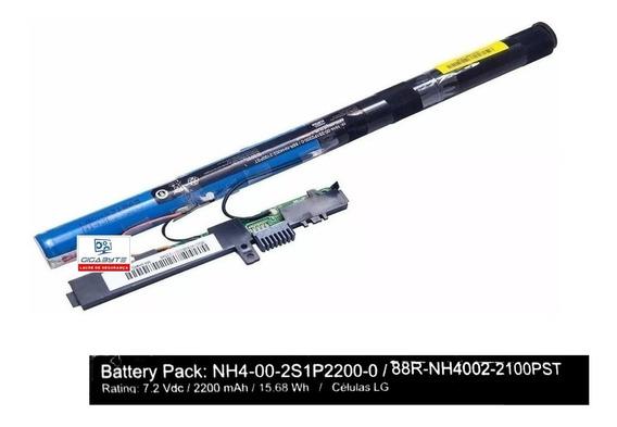 R344 Bateria Positivo Stilo Nh4-00-2s1p2200-0 Duração 1:30