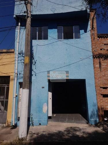 Sobrado Com 3 Dormitórios Para Alugar, 280 M² Por R$ 3.500/mês - Lapa - São Paulo/sp - So0768