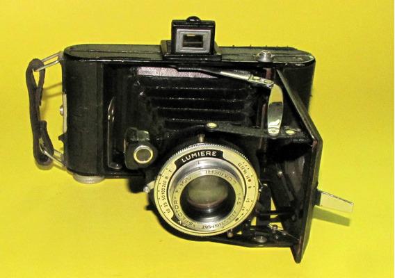Câmera Antiga Lumiere (francesa) De 1940
