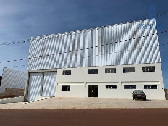 Galpão Para Alugar, 1760 M² Por R$ 32.000,00/mês - Betel - Paulínia/sp - Ga0017
