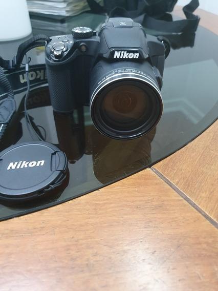 Câmera Fotográfica Coolpix P510 Com Bateria+carregador Extra