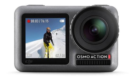 Câmera Profissional De Ação Dji Osmo Action 4k Cinza