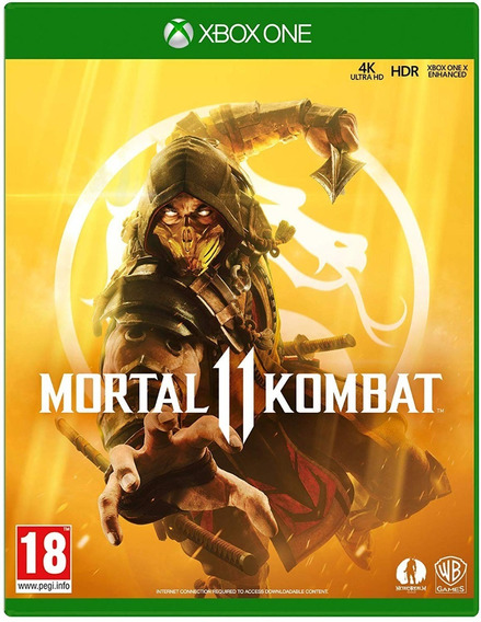 Jogo Mortal Kombat 11 Xbox One Midia Fisica Novo Original