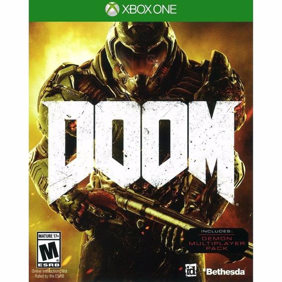 Doom (mídia Física 100% Em Portugues) Xbox One (novo)