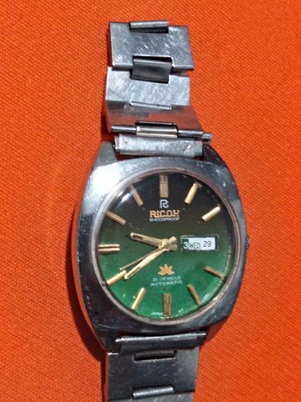 Relógio Ricoh Automático Antigo