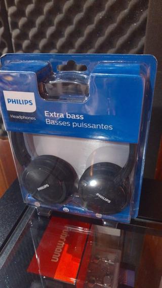 Fone De Ouvido Extra Bass P2 24 Ohm Shl5000 Philips Preto