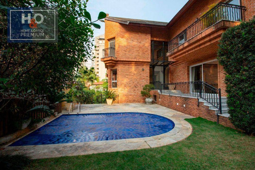 Imagem 1 de 25 de Casa Com 4 Dormitórios Para Alugar, 711 M² - Vila Morumbi - São Paulo/sp - Ca0340