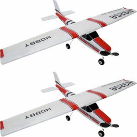 2 Aeromodelo Cessna 182 Isopor P3 Treinador 120cm (2 Unid)