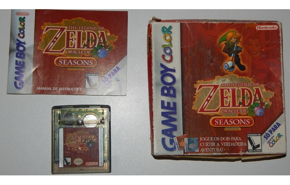 The Legend Of Zelda Oracle Of Seasons, Game Boy Color