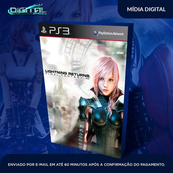 Final Fantasy Xiii Lightning Returns Ps3 Envio Já.