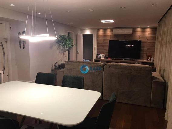 Apartamento Com 3 Dormitórios À Venda, 141 M² Por R$ 985.000 - Jardim Monte Kemel - São Paulo/sp - Ap7029