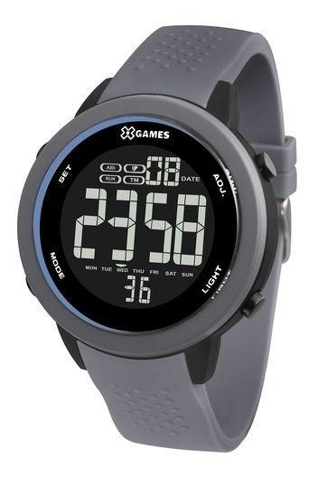 Relógio X-games Masculino Digital Xmppd473 Cinza