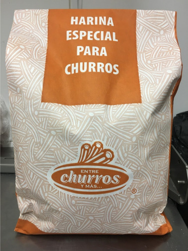 Imagen 1 de 2 de Harina Para Churros Premium Saco 4,89 Kg