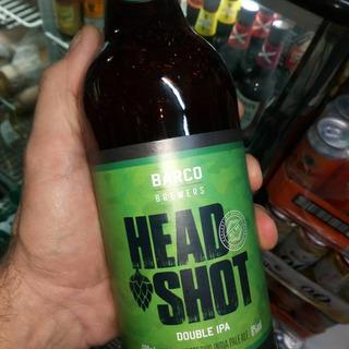 Cerveza Barco Head Shot Doble Ipa 600cc Importada Brasil