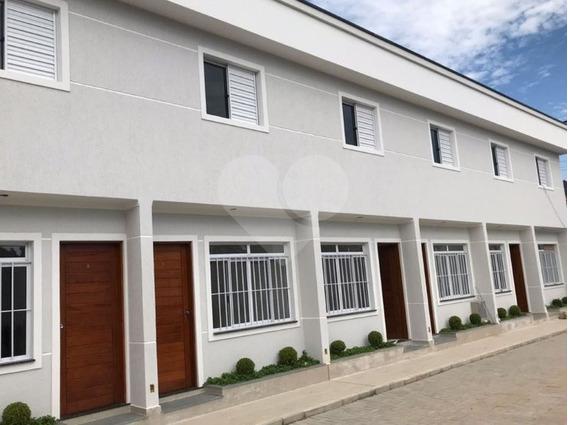 Sobrados Novos Em Condomínio Fechado No Bairro Requisitado Jardim Virginia Bianca - 170-im311837