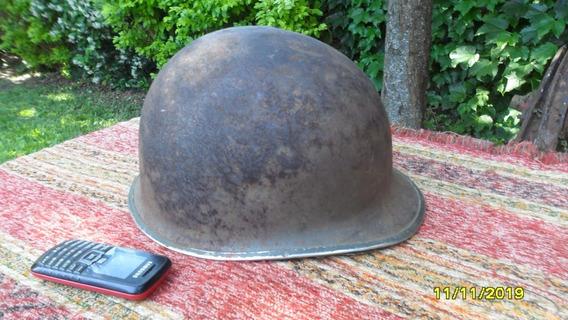 Antiguo Casco Militar Tipo Americano Acero 2da Guerra ?