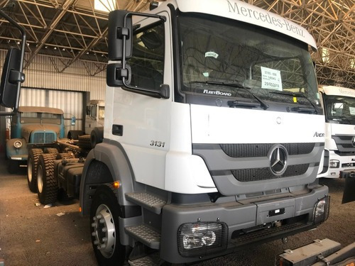 Mercedes-benz Axor 3131 /b36 6x4 Blanco