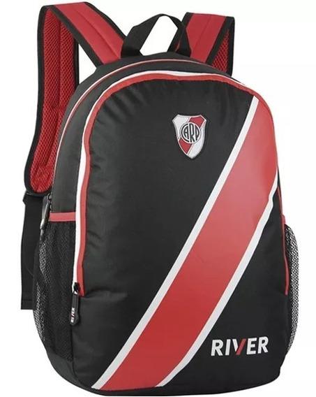 Mochila River Plate Tricolor Espalda 17,5 Pulg Bag Center