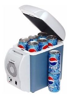 Geladeira Para Carro Viagem Bebidas Gelada 7,5lts Acessorios