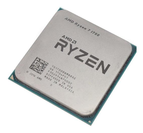 Processador AMD Ryzen 7 1700 8 núcleos 64 GB