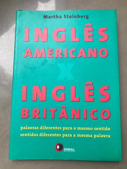 Livro Inglês Americano X Inglês Britânico