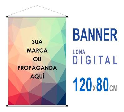 Banner Impressão Digital 120x80cm