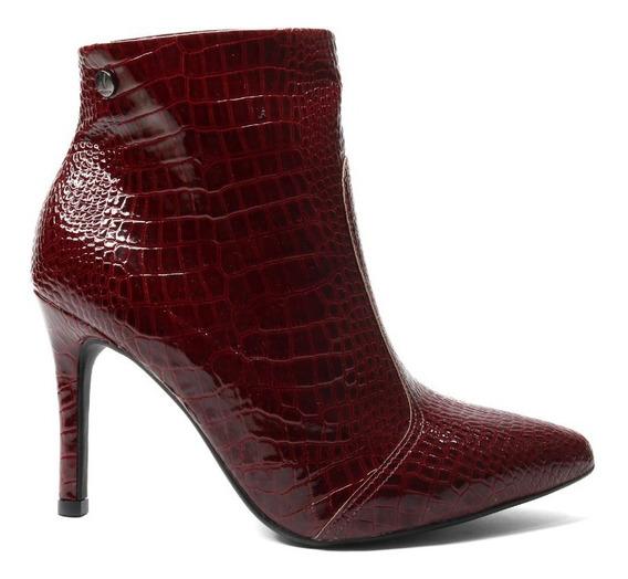 Zapato Stiletto Mujer Cuero Crocco Vizzano. Art 3049