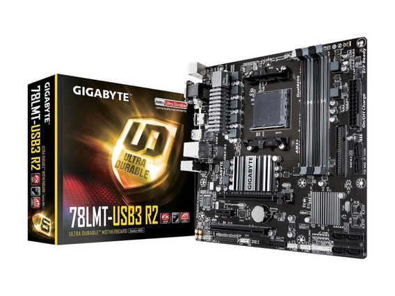 Placa Mãe Gigabyte Para Amd Ga-78lmt-usb3 R2 Ddr3 Am3+ Box