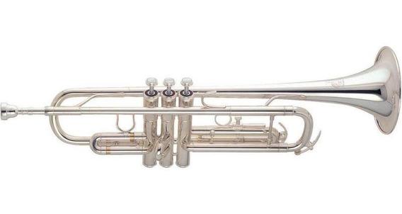 Trompeta Profesional Amati Atr213 Niquelada