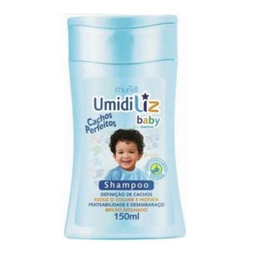 Imagem 1 de 1 de Muriel Umidiliz Baby Azul Shampoo 150ml