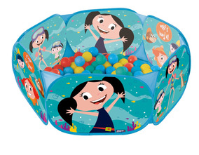 Piscina Bolinhas Show Da Luna Infantil Com 100 Bolinhas